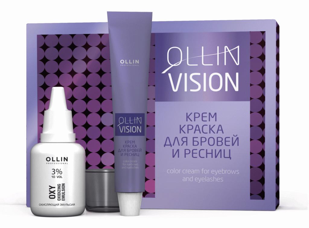 Фарба для брів Ollin Vision